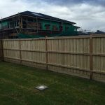 Timber Fence new estate