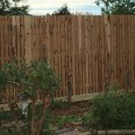 Tall Picket Fence