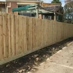 Timber Paling Fence, treated Pine
