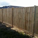 New estate Timber Fencing