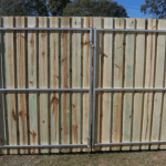 Timber Paling Gate
