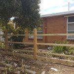 Picket Fence Frame Work