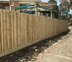 Timber paling fence Melbourne