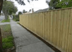 Capped and Lapped Fence