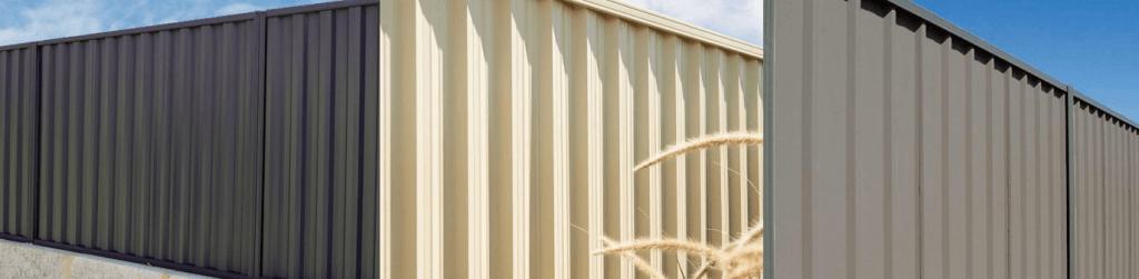 Colorbond fencing installation