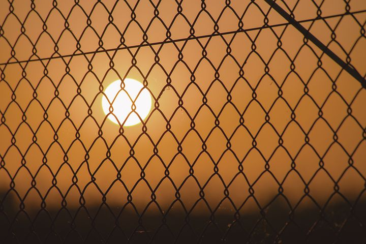 Cyclone Chain Link Fence